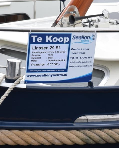 aanbod Sealion Yachts boten bemiddeling