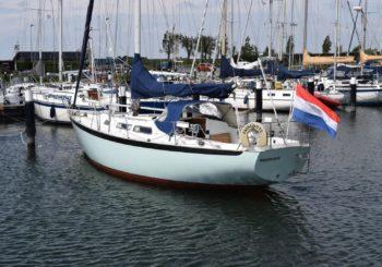 Nicholson 35 sailing yacht